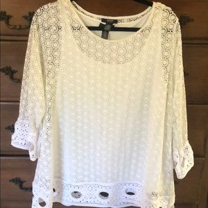 Blouse and built in cami